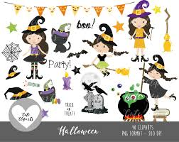 halloween cliparts cod07 50 off sale halloween clipart commercial use halloween