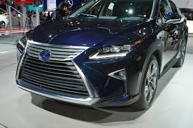 lexus rx new york motor show crossovers of the 2015 new york auto show discussed w video
