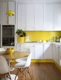 Backsplash For Yellow Kitchen 15 Bright Yellow Kitchens That Will Make You Smile Brit Co