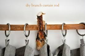diy rustic branch curtain rods u2013 lifeovereasy