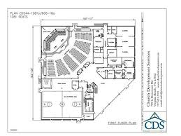 small church floor plans small church building plans church building plan 44 1081 600 18
