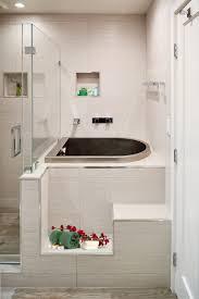 enchanting l shaped tub shower combo photos best inspiration