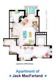 jack macfarland u0027s apartment form u0027will and grace u0027 by nikneuk