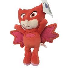 pj masks bean owlette plush doll play toys gift kids children