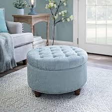 best 10 round tufted ottoman ideas on pinterest blue ottoman