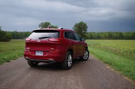 Review 2016 Jeep Cherokee Overland Canadian Auto Review
