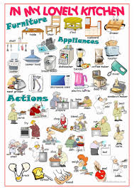 8 free esl kitchen appliances worksheets