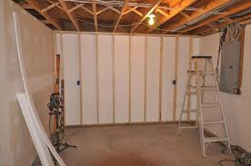 floor to ceiling insulation in a brick wall basement insofast