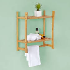 Bamboo Shelves Bathroom Bamboo Bathroom Organization Shelving For Less Overstock