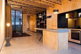 cuisine originale en bois maison originale à l architecture contemporaine à melbourne vivons