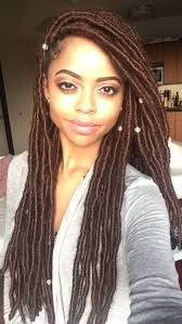 fake dreadlocks black women styles hair and beauty faux locs hair trend here s all you need to know