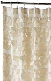 Lush Shower Curtains Triangle Home Fashions 16685 Lush Decor Gigi Shower