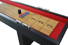 amazon com hathaway avenger 9 u0027 recreational shuffleboard table
