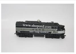 hallmark 2008 lionel new york central locomotive ornament 13th in