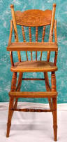 Antique Wood High Chair Vintage All Wood Child U0027s High Chair Must Pick Up