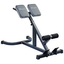 Roman Chair Exercises Amazon Com Soozier 45 Degree Hyperextension Roman Chair