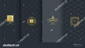 collection design elementslabelsiconframes packagingdesign luxury