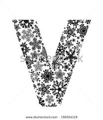 zentangle stylized alphabet letter v doodle stock vector 458114842