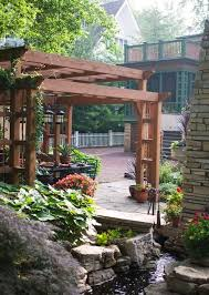 Best Bungalow Backyards Images On Pinterest Landscaping - Backyard bungalow designs