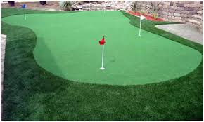 backyards outstanding minimalist putting green for playing golf
