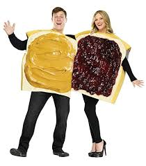 couples costume funworld peanut butter and jelly set purple one