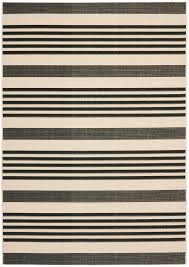 Black And Beige Area Rugs Safavieh Courtyard Cy6062 216 Black And Bone Area Rug Free Shipping