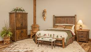 log bedroom furniture log beds rustic bedroom furniture barnwood bed woodland creek