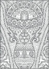super hard abstract coloring pages for adults animals super hard colouring pages free mosaic coloring for kids wisekids info