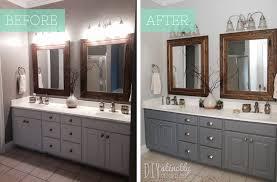 how to refinish bathroom cabinets repainting bathroom cabinet doors www resnooze com