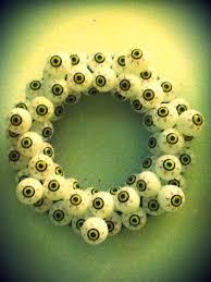 diy halloween eyeball wreath u2013 oh my deer