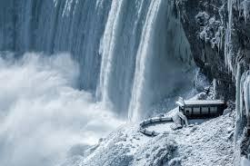 niagara falls waterfall frozen waterfall 2017