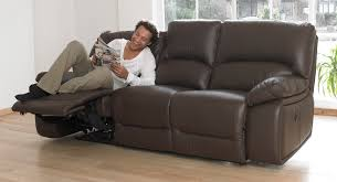 3 seater electric double recliner sofa