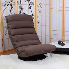 Chaise Lounge Recliner Aliexpress Com Buy Floor Recliner Chair 360degree Swivel Folded
