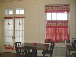 kitchen amazing modern kitchen valance curtains window valances