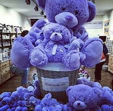 big teddy bears for valentines day home accessory purple teddy teddy