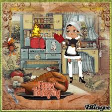 betty boop thanksgiving picture 118613668 blingee