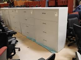 used steelcase 4 drawer lateral file cabinet putty anderson u0027s