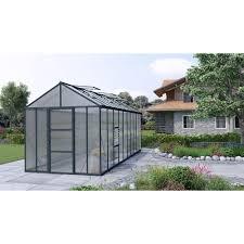 Palram Lean To Greenhouse Palram Glory Greenhouse 8 U0027 X 20 U0027 Premium Kit Palram Greenhouse