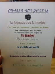 ton encreur mariage jeu enfants mariage chasse aux photos mariage