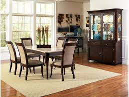 steve silver marseille transitional rectangular marble top dining