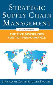 amazon com strategic supply chain management the five core