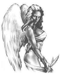bloodybridge new angel tattoos designs