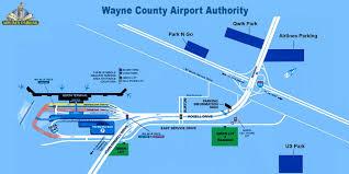 detroit metro airport map dtw parking complete detroit airport parking guide