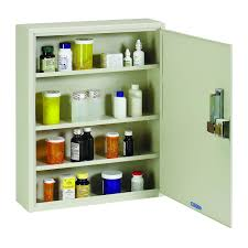 locking wall cabinet steel amazon com steelmaster medical security cabinet with simplex