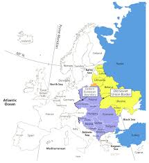 Map Of Romania In Europe by Former Countries In Europe After 1815 Map Of Europe And