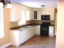 l shaped kitchen design with wooden partition wardrobe designs
