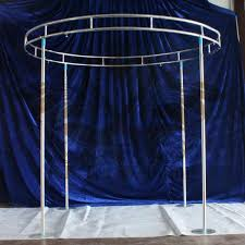 Wedding Backdrop Stand Round Shape Backdrop Stand Stage Stent For Wedding Decoration