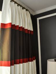 Black And White Bedroom Drapes Designer Inspired Master Bedroom Evaru Design Hgtv