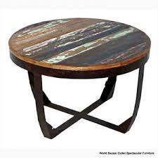 30 inch end table 30 inch round coffee table is loading solid multicolor reclaimed