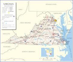 Map Of Richmond Va Virginia Map Pssucai